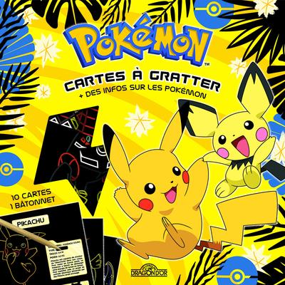 POKEMON  CARTES A GRATTER POKEDEX