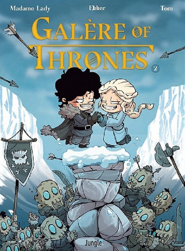 GALERE OF THRONES - TOME 2 - VOL02
