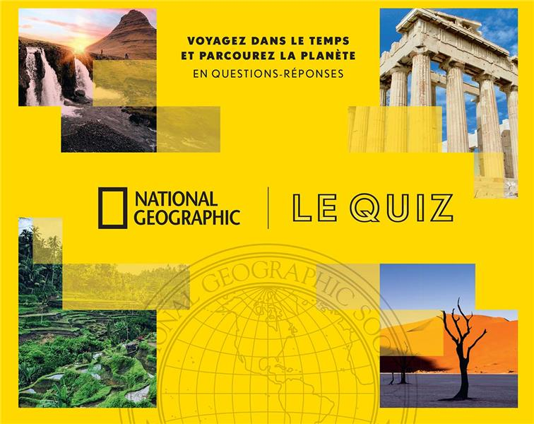 BOITE QUIZ NATIONAL GEOGRAPHIC - QUESTIONS & REPONSES