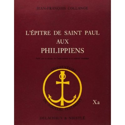 L'EPITRE DE SAINT PAUL AUX PHILIPPIENS