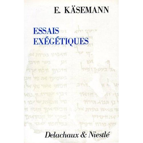 ESSAIS EXEGETIQUES