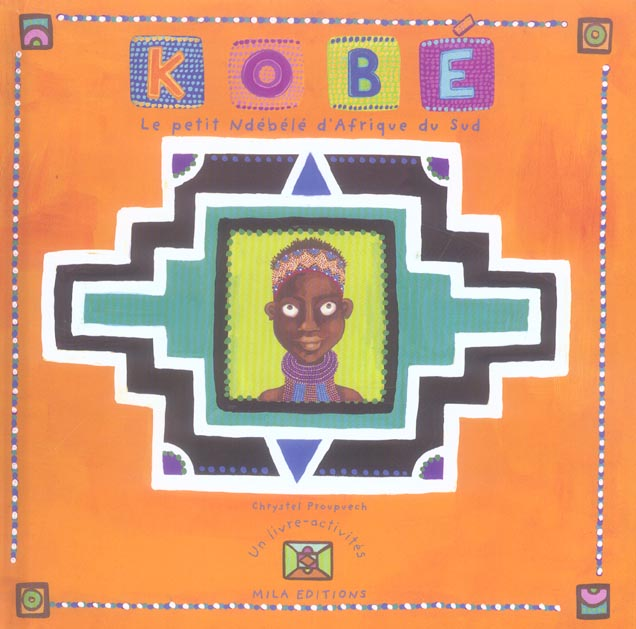 KOBE LE PETIT NDEBELE D'AFRIQUE DU SUD