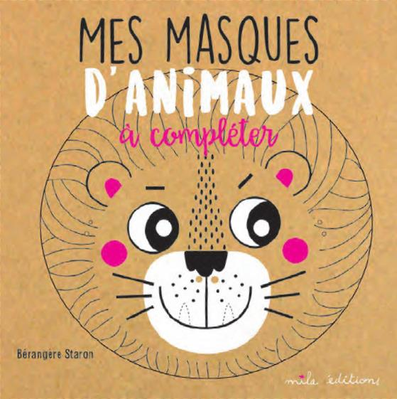 MASQUES D'ANIMAUX A COMPLETER (MES)
