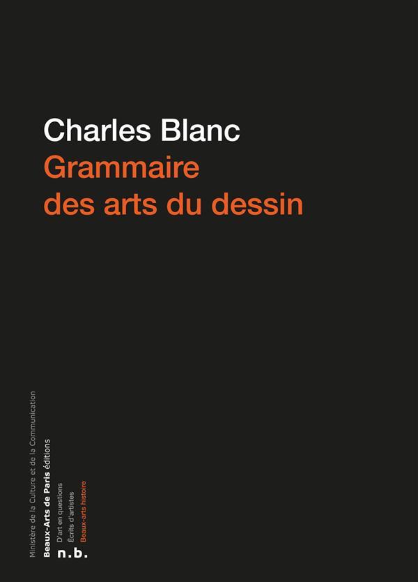 GRAMMAIRE DES ARTS DU DESSIN