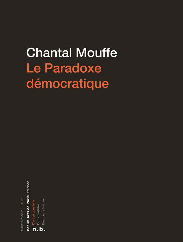 PARADOXE DEMOCRATIQUE (LE)