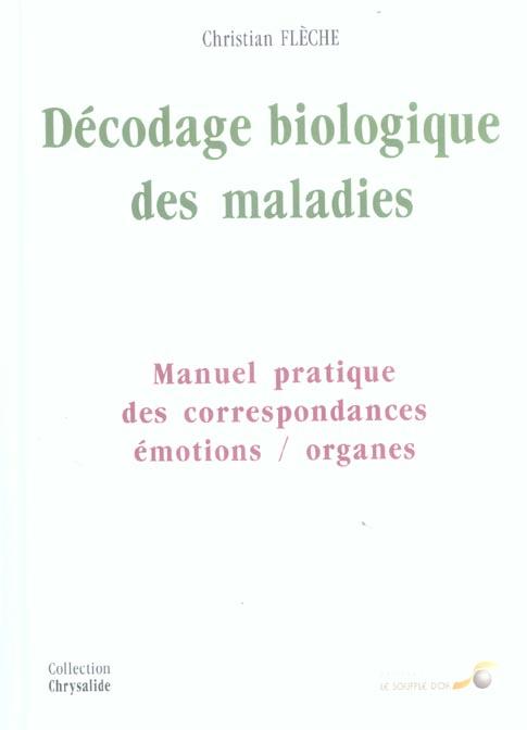 DECODAGE BIOLOGIQUE DES MALADIES