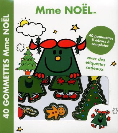 MME NOEL 40 GOMMETTES