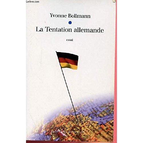 TENTATION ALLEMANDE