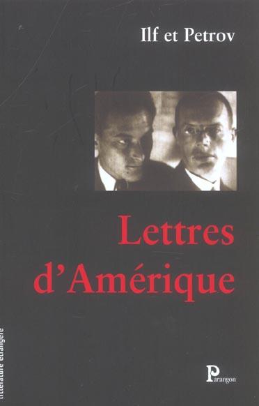 LETTRES D AMERIQUE