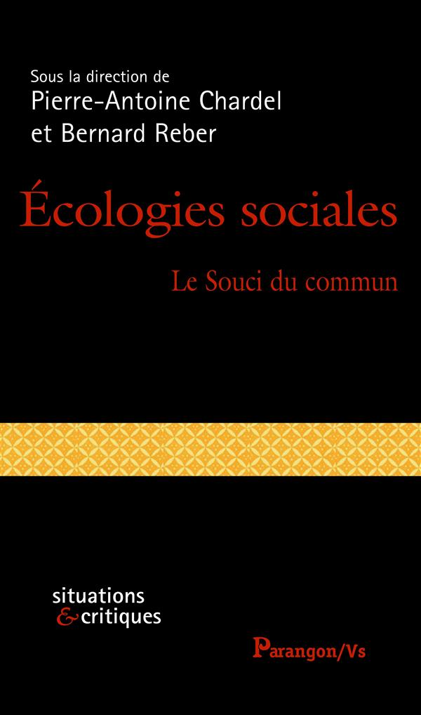 ECOLOGIES SOCIALES
