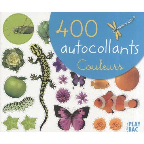 400 AUTOCOLLANTS COULEURS 2007