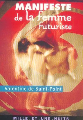 MANIFESTE DE LA FEMME FUTURISTE