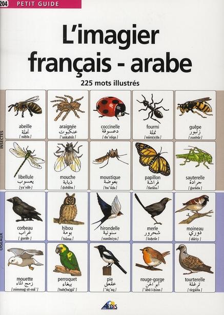 IMAGIER FRANCAIS/ARABE