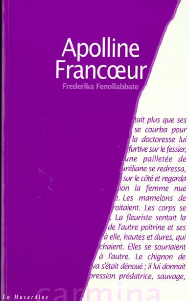 APPOLINE FRANCOEUR