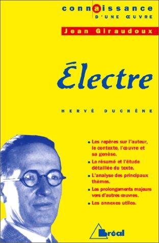 ELECTRE - GIRAUDOUX