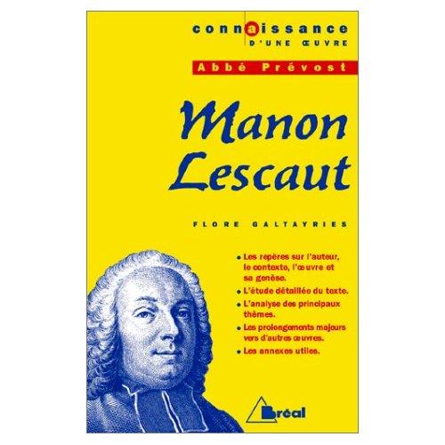 MANON LESCAUT - ABBE PREVOST