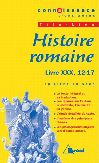 HISTOIRE ROMAINE -  TITE LIVE