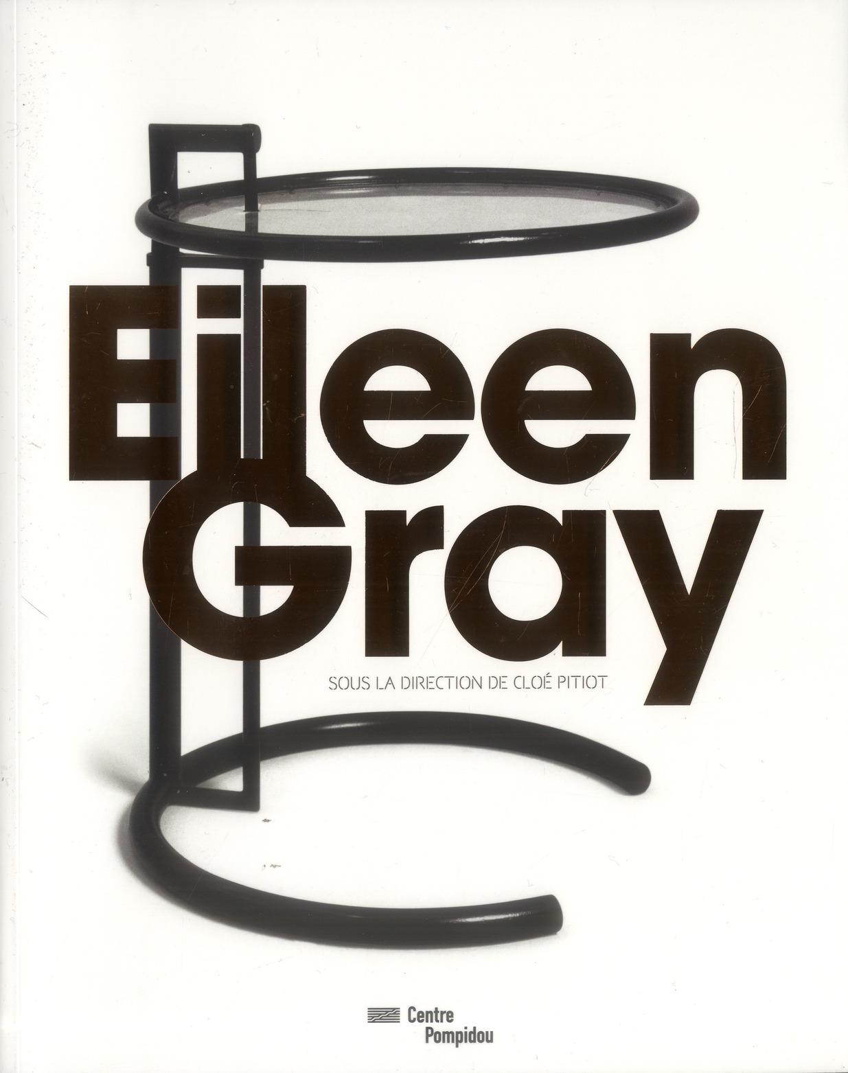EILEEN GRAY - CATALOGUE DE L'EXPOSITION