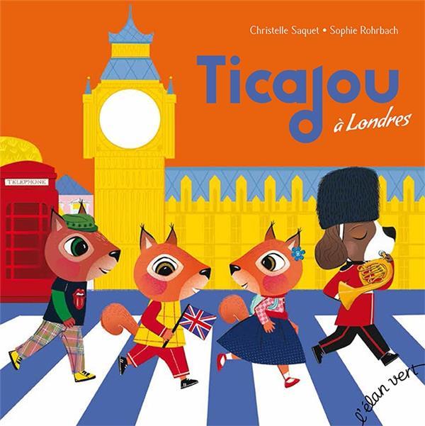 TICAJOU A LONDRES (COLL. TCHIKIBOUM) - POP ROCK ANGLAISE