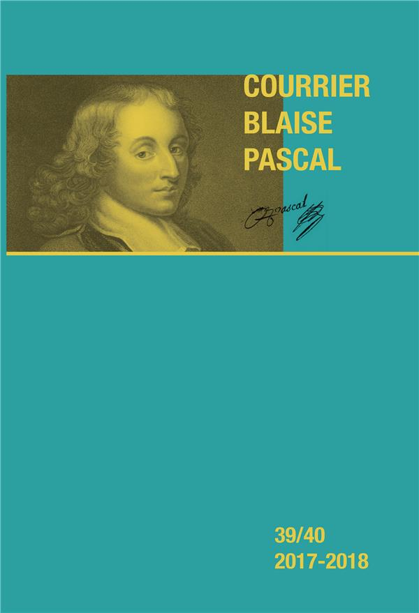 COURRIER BLAISE PASCAL 39/40