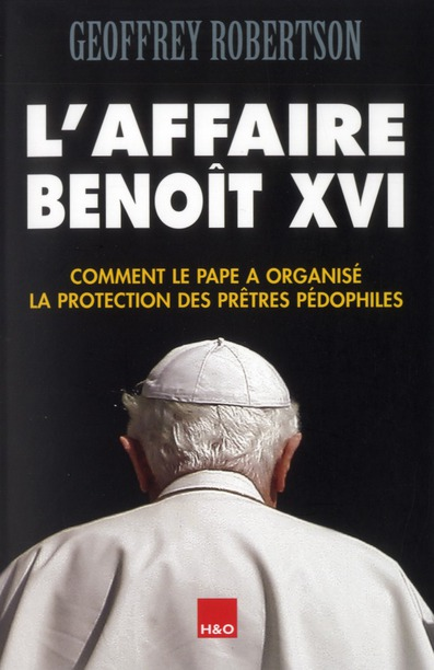 L'AFFAIRE BENOIT XVI