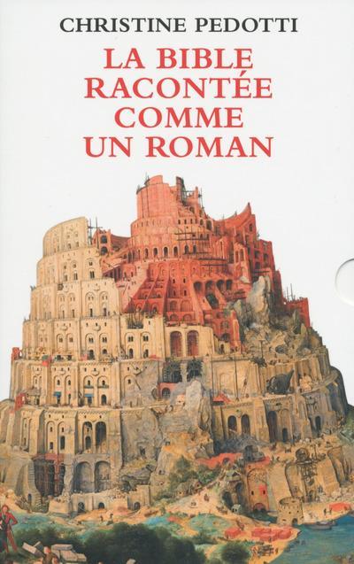 COFFRET 2 VOL - LA BIBLE RACONTEE COMME UN ROMAN