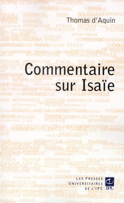 COMMENTAIRE SUR ISAIE