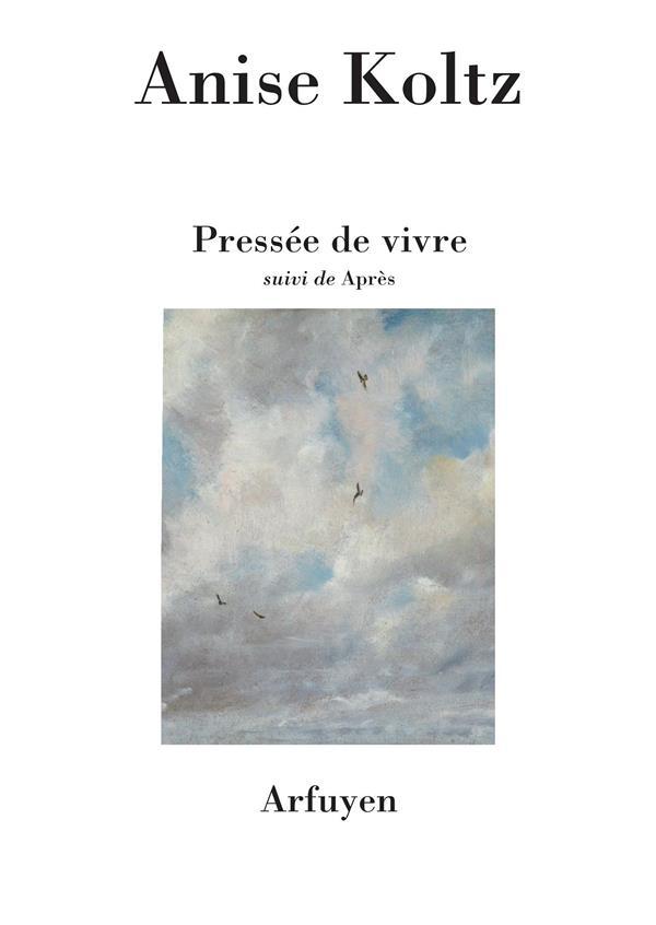 PRESSEE DE VIVRE