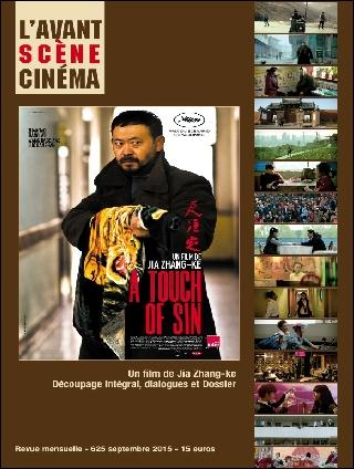 L AVANT-SCENE CINEMA N 625 A TOUCH OF SIN SEPTEMBRE 2015