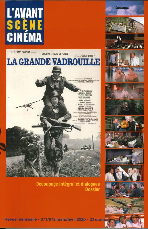 L'AVANT-SCENE CINEMA N 671 LA GRANDE VADROUILLE - MARS 2020