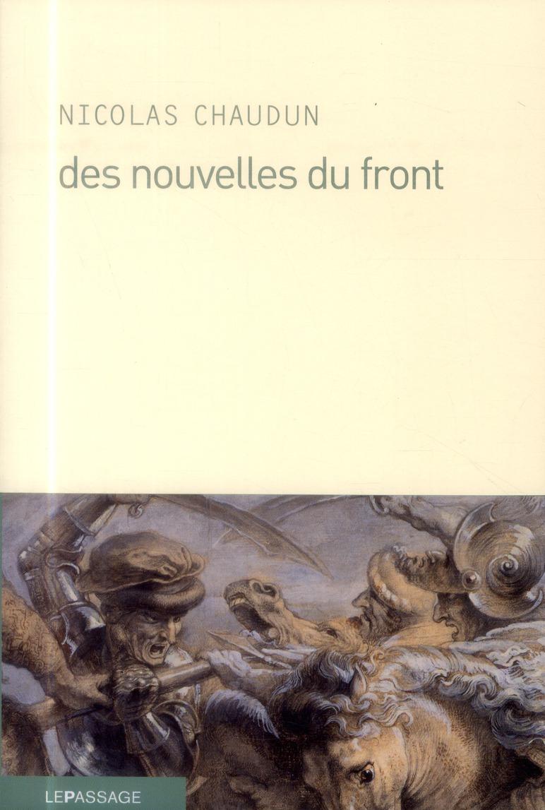 DES NOUVELLES DU FRONT
