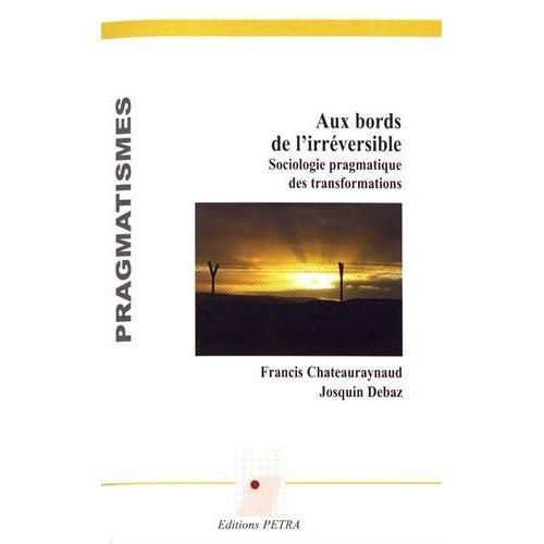 AUX BORDS DE L'IRREVERSIBLE. SOCIOLOGIE PRAGMATIQUE DES TRANSFORMATIONS