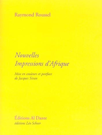 NOUVELLES IMPRESSIONS D'AFRIQUE