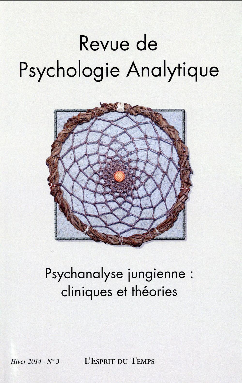 REVUE DE PSYCHOLOGIE ANALYTIQUE N 3
