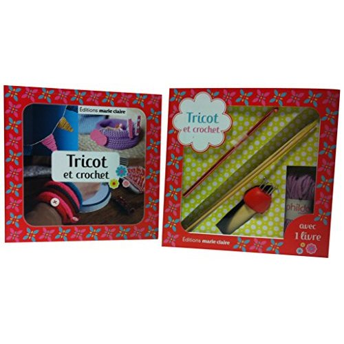 KIT TRICOT TRICOTIN ET CROCHET KIDS