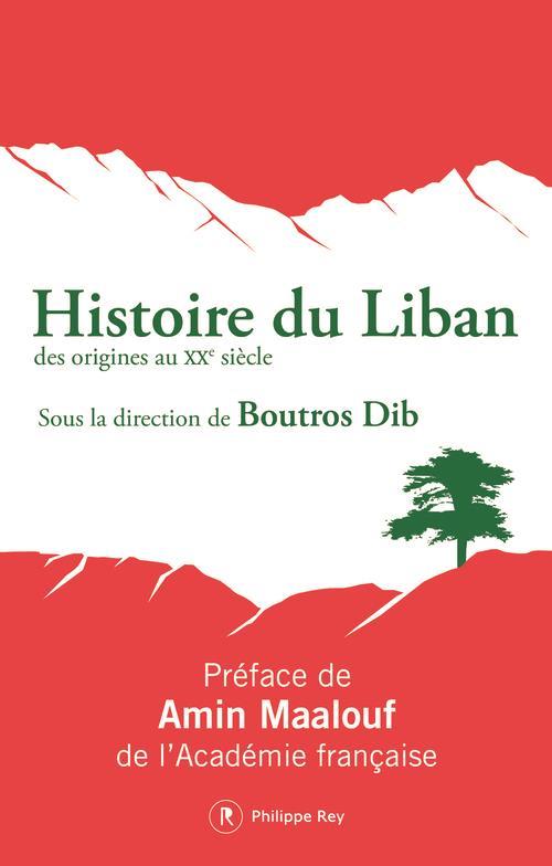 HISTOIRE DU LIBAN - NOUVELLE EDITION