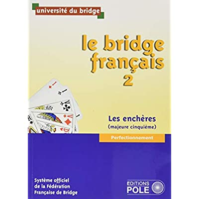 PACK LE BRIDGE FRANCAIS 2 AVEC CORRIGES