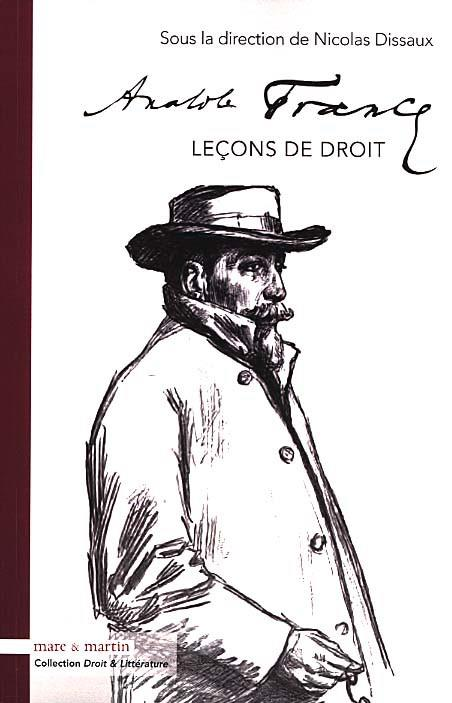ANATOLE FRANCE  LECONS DE DROIT