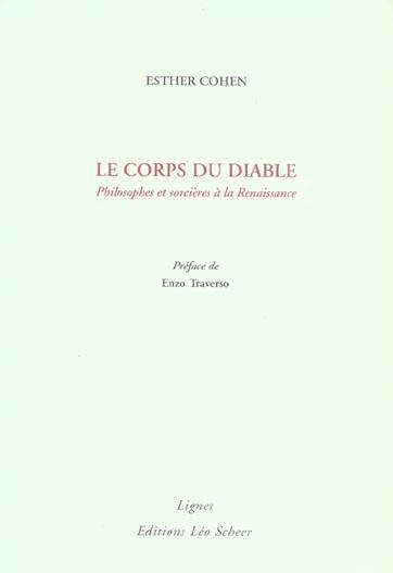 LE CORPS DU DIABLE