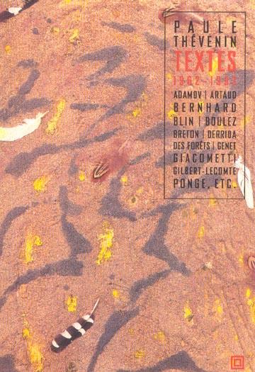 TEXTES (1962-1993)