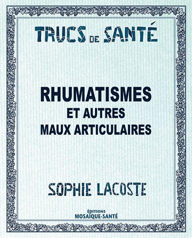 RHUMATISMES ET AUTRES MAUX ARTICULAIRES ...