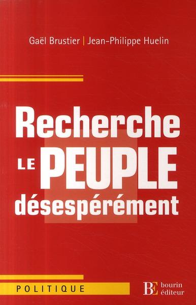 RECHERCHE LE PEUPLE DESESPEREMENT