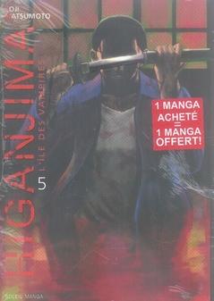 PACK HIGANJIMA TOME 05 + TOME 01 GRATUIT + MANGA PREVIEWS