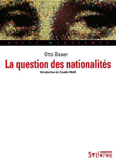 QUESTION DES NATIONALITES (LA)