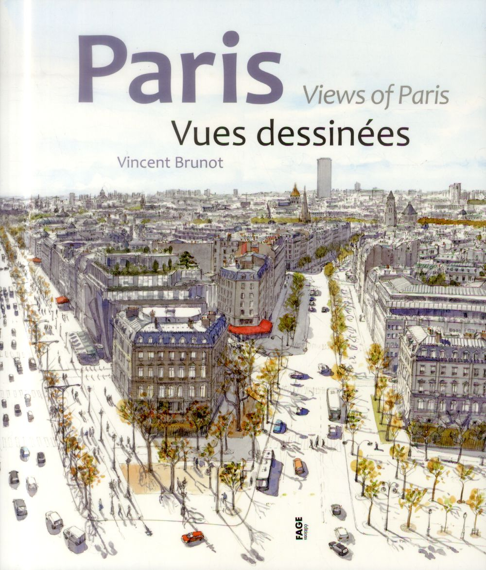 PARIS, VUES DESSINEES