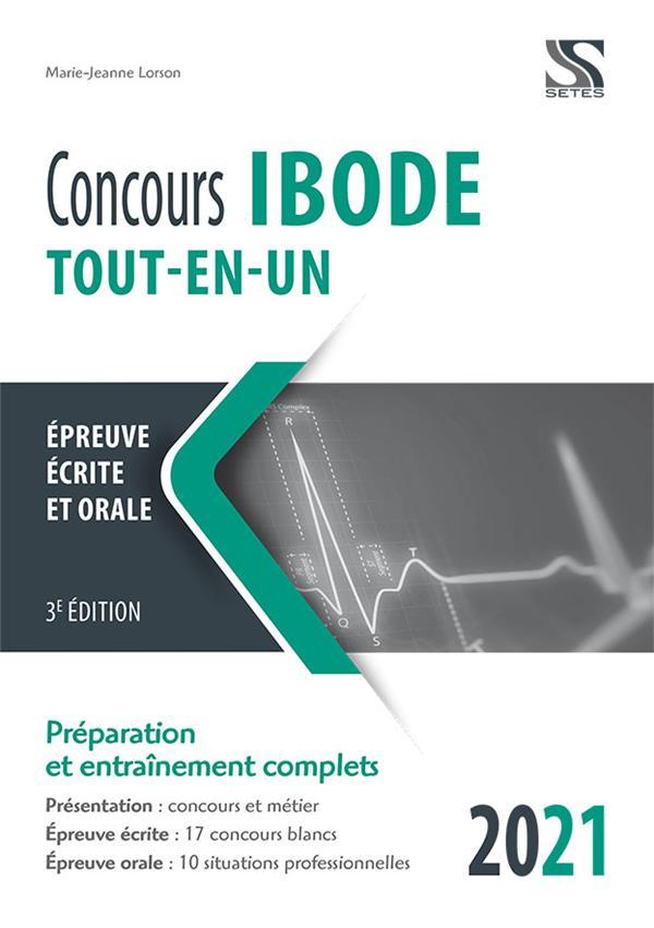 CONCOURS IBODE 2021-2022 TOUT EN UN