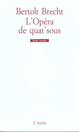 OPERA DE QUAT'SOUS (L')