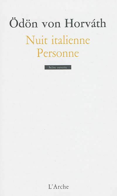 NUIT ITALIENNE / PERSONNE
