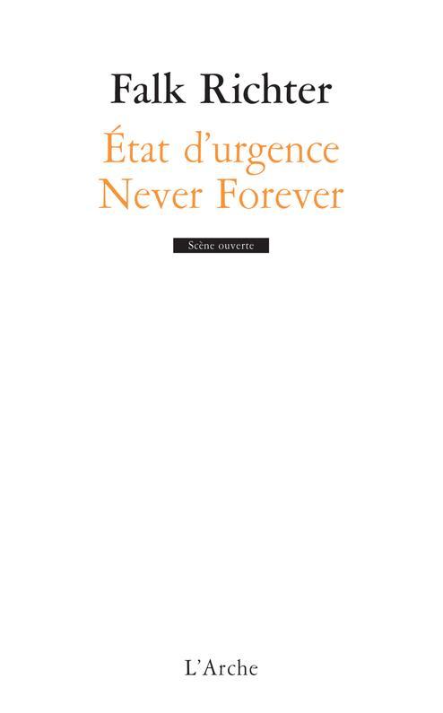 ETAT D'URGENCE NEVER FOREVER