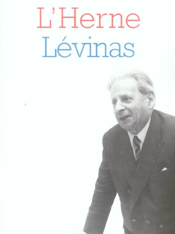 CAHIER LEVINAS N 60
